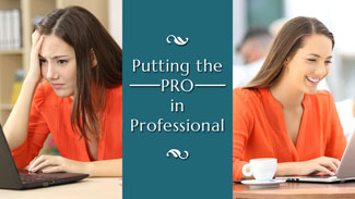 Putting the PRO in Professional