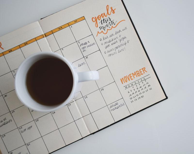 availability schedule calendar